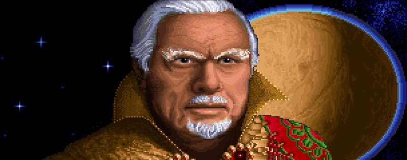 The emperor from Dune 2 - Writing by GamerZakh