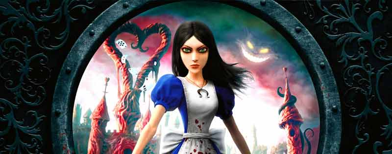 Alice from American McGee's Madness Returns video game - Writing by GamerZakh