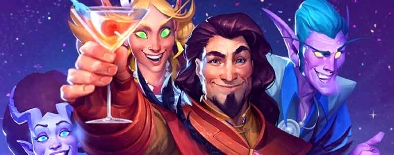 An image depicting a party from One Night in Karazhan from Hearthstone - Writing by GamerZakh