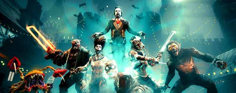 A line of zombie and Halloween-themed characters from Killing Floor 2 - Writing by GamerZakh