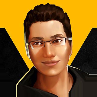 A profile picture portrait of GamerZakh