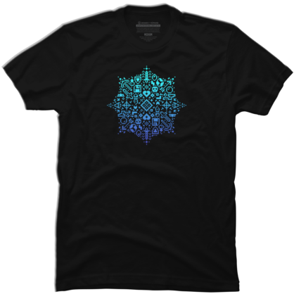 Pixel Art Snowflake